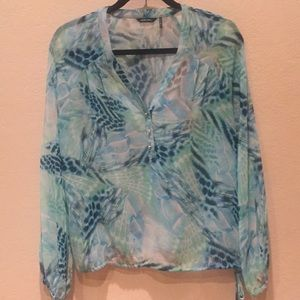 Marciano long sleeved blouse/top size XS